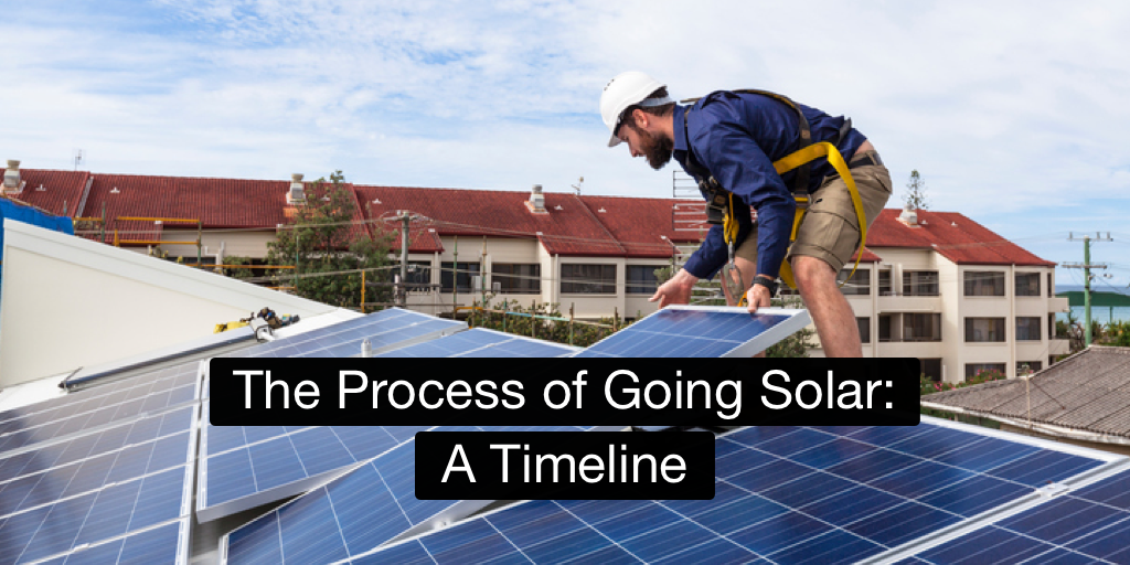 The Process of Going Solar: A Timeline