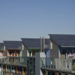 flat roofs with solar panels