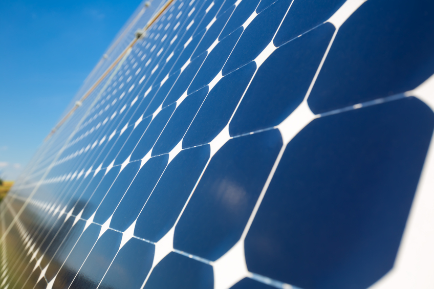 Photovoltaic solar panels for generating electricity