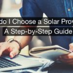 How to choose solar provider