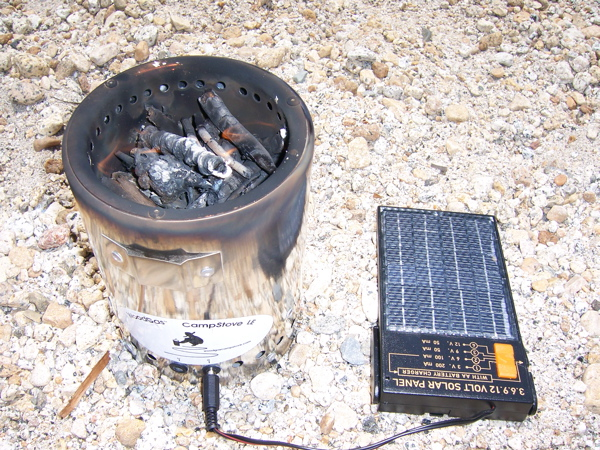 Solar-Powered Camp Stove