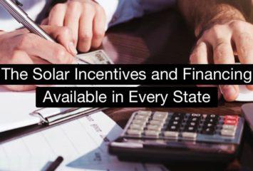 Solar incentives per state