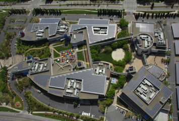 Google's Googleplex is Big on Solar