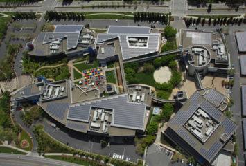 Google's Googleplex is Big on Solar