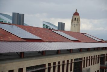 Stanford University Tests Solar Power Water Heater on Dorms